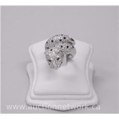 Lady's Panther Design Ring. - Auction Network