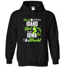 IDAHO-IOWA Xmas 01Lime - #shirt for girls #country sweatshirt. CHEAP PRICE => https://www.sunfrog.com/States/IDAHO-2DIOWA-Xmas-01Lime-Black-Hoodie.html?68278