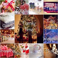 Things we love about Christmas.