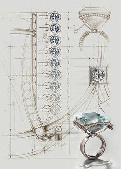 Эскизы ювелирных украшений. #графика@vk_art_idea