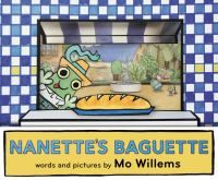 "Zoey's Pick:Nanette has been given an important job by Mom: get the baguette! Is she ready? ""You bet!"" But will Nanette get distracted on her mission? Will the baguette be too tempting? Mo Willems' new book is full of humor and fun. Kids will relate as they watch Nanette learn about responsibility and the temptation of fresh bread! A definite must read!"