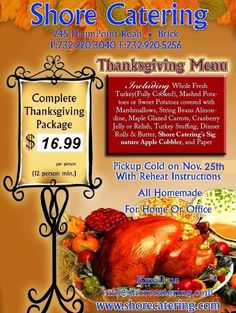 Complete Thanksgiving Package