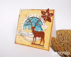 card by Ladybug #goscrap #scrapbooking #cardmaking #christmas