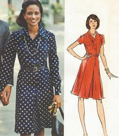 70s Christian Dior Vogue Paris Original Sewing by CloesCloset