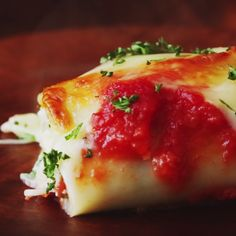 How to make Lasagna rolls.