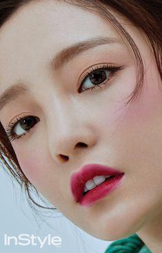 Goo Hara in InStyle Korea December 2017 Go Hara, Goo Hara Kara, Eyelid Surgery, Kim Sang, Le Jolie, Korean Actresses, Beautiful Asian Girls, Makeup Inspiration, Kpop Girls