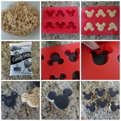 The Partiologist: Mickey Mouse Rice Krispie Treats! The Partiologist: Mickey Mouse Rice Krispie Treats! Disney Desserts, Mickey Mouse Desserts, Mickey Mouse Treats, Mickey Mouse Theme Party, Mickey Mouse Party Decorations, Mickey 1st Birthdays, Mickey Mouse First Birthday, Mickey Mouse Baby Shower, Mickey Mouse Clubhouse Birthday Party
