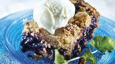 Mustikkakukko on perinnejälkiruoka, joka maistuu kaikkina vuodenaikoina.