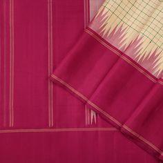 Explore all our Kanakavalli kanjivaram silk saris here-from the breezy Mandanila options, to the opulent Valli Muhurtham bridal and trousseau collectives. Kanjivaram Sarees Silk, Banarsi Saree, Indian Silk Sarees, Ethnic Sarees, Kanchipuram Saree, Soft Silk Sarees, New Fashion Saree, Ethnic Suit, Saree Blouse Neck Designs