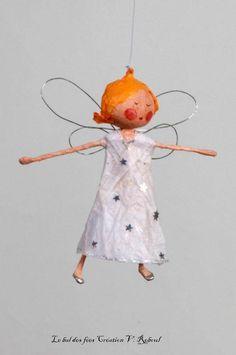 Petite fée - objets déco - Le bal des fées - Fait Maison