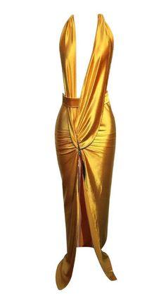 Goddess High-Split Maxi Dress - JayBela