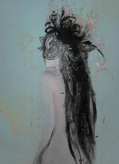 unfit for mankind Artwork by Leslie Ann O'Dell - #Leslie_Ann_O_Dell #art