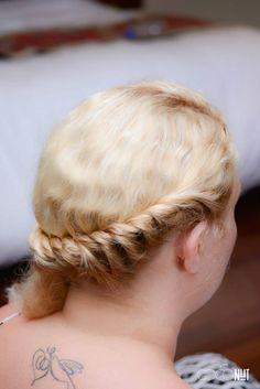 Rope Braid- Bridal Hair
