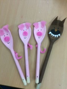 wooden spoon pig craft 1000 images about activities for puppet play on 5783