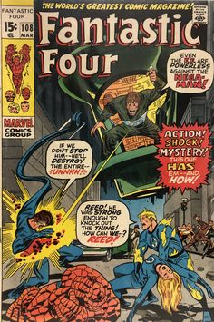 Comic Book Covers, Comic Books, Fantastic Four Comics, Comic Frame, Star Comics, Silver Age, Fantasy Character Design, The World's Greatest, Fantasy Characters