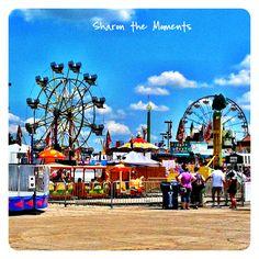 The Ohio State Fair midway Columbus Ohio