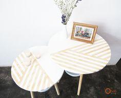 Ohoh Blog - diy and crafts: DIY Side tables