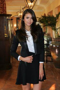 Nina Dobrev em entrevista ao Extra TV