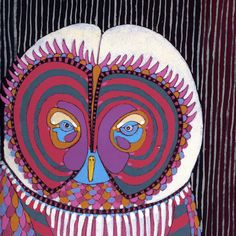 Owl 6- hand painted one-of-a-kind limited edition print. $200.00, via Etsy.