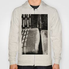 Train Seats Hoody by Anja Hebrank - $42.00  #train #seat #seats #chair #blackandwhite #bnw #bw #york #uk #england #streetphotography #canon #present #decoration #kitchen #interior #bnw #blackwhite #travelling #travelphotography #design #individual #society6 #print #art #artprint #interior #decoration #design #tshirt #shirt #clothing #clothes #fashion #top #hoodie #jumper #pullover