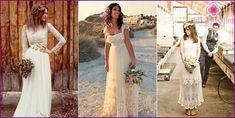 Suknie ślubne w stylu rustykalnym - popularne modele i style 2015 ze zdjęciem