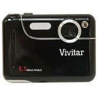 Vivitar ViviCam 5.1 - megapixel Digital Camera by Vivitar. $39.36. 5.1 - megapixel ViviCam Digital Camera Kit from world - famous Vivitar is PRICED LESS! Vivitar's advanced ViviCam Digital Camera is a hassle-free marvel. It delivers super snaps every time with its easy-to-use, point-and-shoot system. No focusing, no film and no learning curve! Preserving the good times with family and friends has never been easier, faster or more affordable. Best of all, sharing your hi-res, cry...