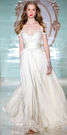 Reem Acra Spring 2015 Bridal Collection - Reem Acra from #InStyle