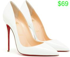 Christian Louboutin Kate Patent Leather Pumps in   Lyst