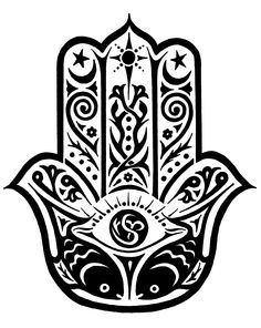 Hamsa Hand. A sign of protection that also represents blessings, power, and strength, and is seen as potent in deflecting the evil eye. And yes, another tattoo idea ;)