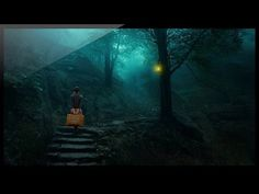 Photoshop: How to make photo manipulation effects transform the day into night - YouTube
