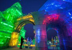 Harbin international ice and snow festival, northeastern China - looks amazing!