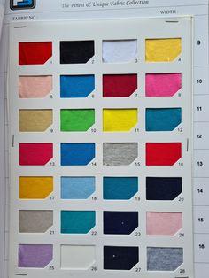 4 TYPES OF SINGLE JERSEY 1. Yarn Count 21S, 180gsm, 3m/KG 2. Yarn Count 40S, 110gsm, 4.7m/KG 3. Yarn Count 26S, 170gsm, 3.1m/KG 4. Yarn Count 32S, 150gsm, 3.5m/KG Shirt, Fabric, Collection, Tejido, Tela, Dress Shirt, Shirts, Cloths, Fabrics