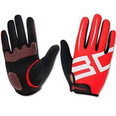 Dreampark Full Finger Cycling Bike Bicycle Road Racing Gloves with Gel Pad Breathable Shockabsorbing MenWomen Gloves * Check out this great product.(This is an Amazon affiliate link and I receive a commission for the sales)