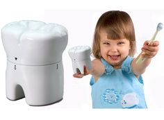 Tooth brushing timer. Great for kids!#charlottedentistry #therealcharlottedentistry