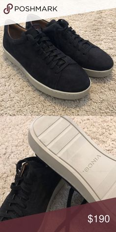 f09a61bb5be11 Vince sneakers. Black suede sneakers from Vince. Size 11. New and unworn w