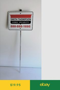 Special November Sign Sale Help Keep Your Family Protected with These Great Anti Theft Signs Protection for Any Business or Store 1 Adt Home Secure Alarm Yard Signs and 5 Decals Stickers