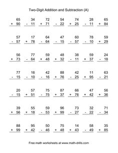 math worksheet : math worksheets printable column addition money 4 digits 1  : Adding And Subtracting Two Digit Numbers With Regrouping Worksheets
