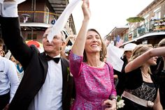 A New Orleans Wedding by Rachel Thurston - Southern Weddings Southern Bride, Southern Weddings, Wedding Vendors, Wedding Favors, Second Line Parade, Southern Wedding Inspiration, New Orleans Wedding, Dream Wedding, Wedding Dreams