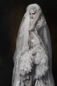 STEAMPUNK WEDDING GOWNS | Steampunk Victorian Wedding Dress Gown Gothic Fantasy Fashion A ...