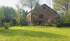 huis vanuit de achtertuin