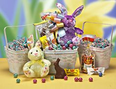 Corporate gift baskets candy and chocolate gift buckets in new easter gift basket for delivery negle Gallery