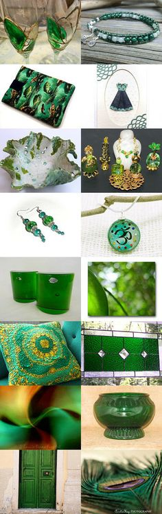 Emeralds by Barbra and Meredith on Etsy--Pinned with TreasuryPin.com