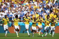 Fotos   Colombia vs Grecia , Grupo C