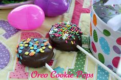 Easter Oreo Cookie Pops