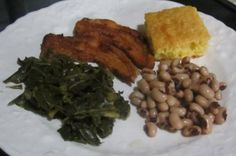 Lucky Black Eyed Peas for New Year - Southern Cooking Recipes
