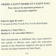 Prière à Saint Pierre...