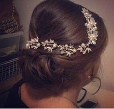 Bridal Hair Vine / Piece