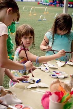 Kids Painting Chunky Onion