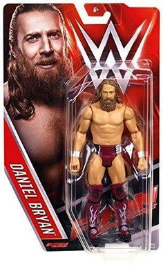 DANIEL BRYAN WWE MATTEL BASIC SERIES 57 ACTION FIGURE TOY (BRAND NEW) in Toys & Hobbies, Action Figures, Sports | eBay