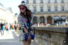 Irene Kim street style Paris